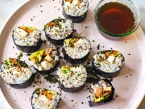 Super natural vegan sushi