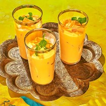 Sweet-and-salty mango lassi