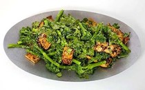 Sweet broccolini with tofu, sesame and coriander