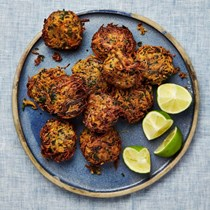 Sweet potato and quinoa fritters