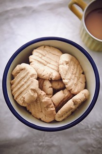 Tahini lemon biscuits