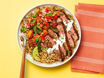 Tex-Mex steak bowls