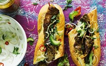 Thai steak sandwiches