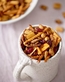 Thanksgiving Chex mix