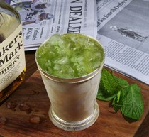 The aggressive mint julep