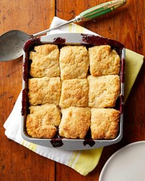 The best blackberry cobbler