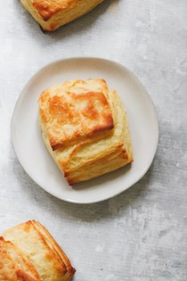 The best flaky homemade yeast biscuits
