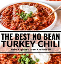 The best no bean turkey chili