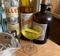 The white negroni