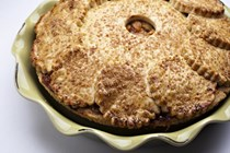 Tiffany MacIsaac's double-crust apple pie