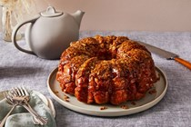 Toasted oat caramel monkey bread