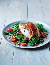 Tom Daley's cod and lentils