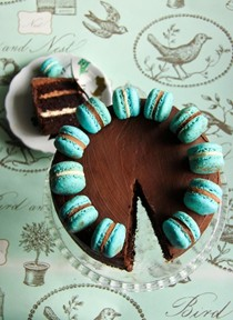 Triple-triple chocolate cake
