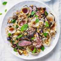 Turkish lamb with rice and onions
