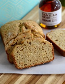Vanilla maple banana bread