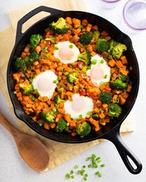 Vegetable breakfast hash