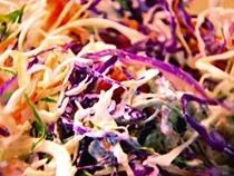 Vegetable coleslaw