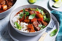 Vietnamese beef and lemongrass stew
