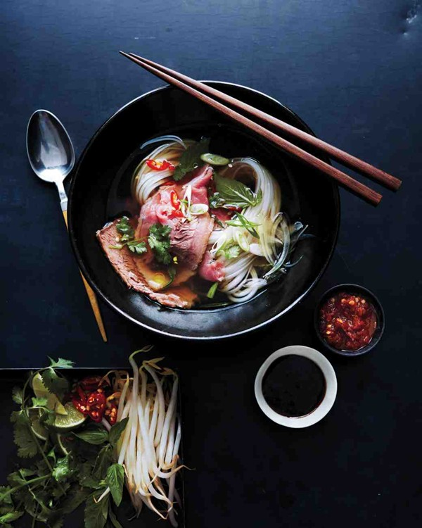 Vietnamese pho by Martha Stewart Living magazine