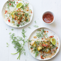Vietnamese-style fish with turmeric and dill