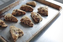 Whole wheat date scones