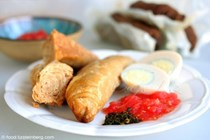 Yemenite breakfast (Jachnun)